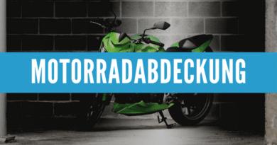 Motorrad Abdeckung