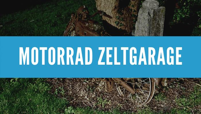 Motorrad Zeltgarage