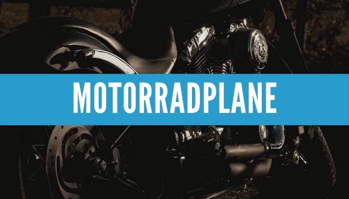 Motorradplane