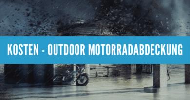 Kosten - Outdoor Motorradabdeckung