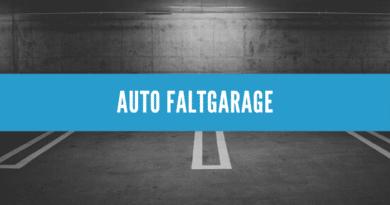 Auto Faltgarage